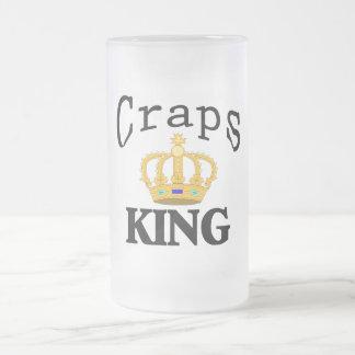 Rey de las mierdas taza de café