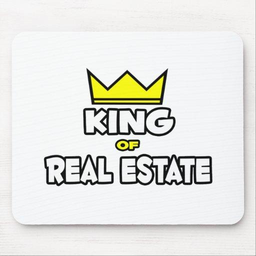 Rey de las propiedades inmobiliarias mousepads