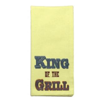 Rey de las servilletas del Bbq de la parrilla