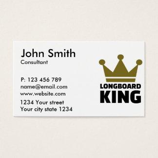 Rey de Longboard Tarjetas De Visita