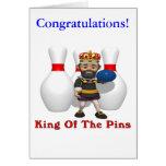 Rey de los bolos felicitación