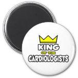 Rey de los cardiólogos iman para frigorífico