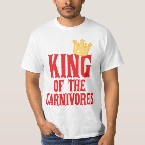 Rey de los carnívoros playera
