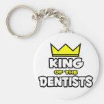 Rey de los dentistas llavero