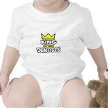 Rey de los dentistas traje de bebé