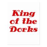 Rey de los Dorks Tarjetas Postales