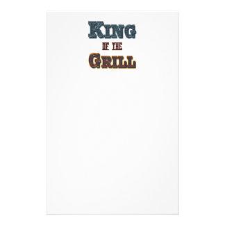Rey de los efectos de escritorio de la parrilla papeleria personalizada