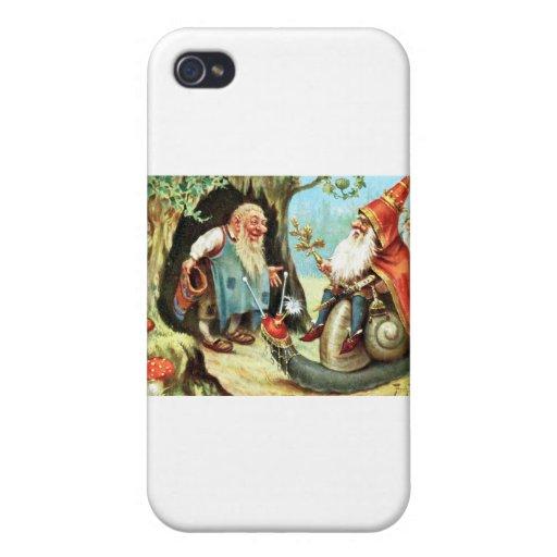 Rey de los gnomos iPhone 4/4S carcasas