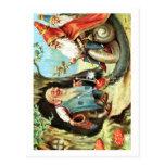 Rey de los gnomos tarjeta postal