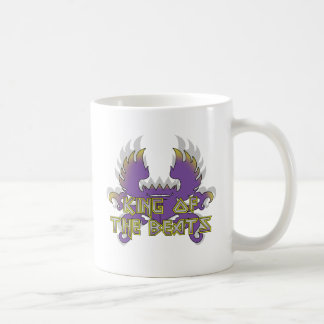 Rey de los golpes tazas de café