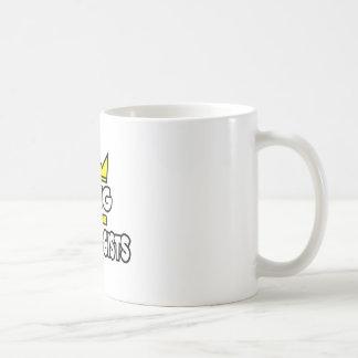Rey de los radiólogos taza de café