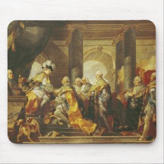 Rey de Louis XVI de Francia Alfombrillas De Ratones