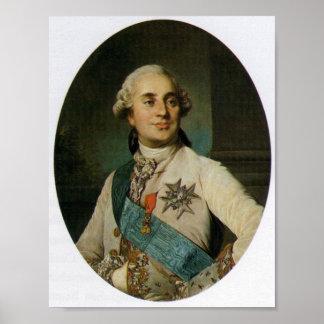 Rey de Louis XVI de Francia Poster