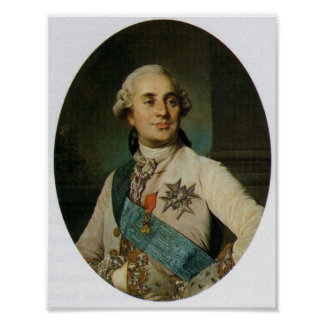 Rey de Louis XVI de Francia Póster