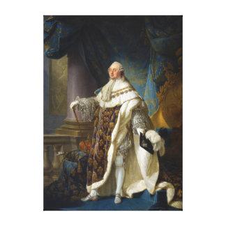 Rey de Louis XVI de Francia y de Navarra (1754-179 Lona Estirada Galerias