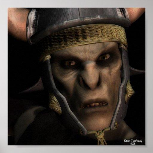 Rey de Orc Póster