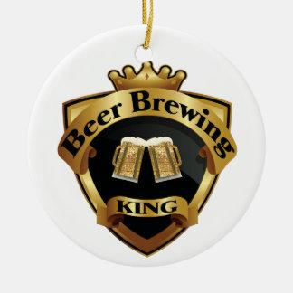 Rey de oro Crown Crest de la fabricación de la