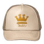 Rey de oro Daddy Hat Gorras De Camionero