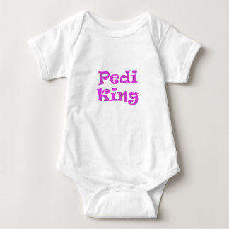 Rey de Pedi Mameluco De Bebé