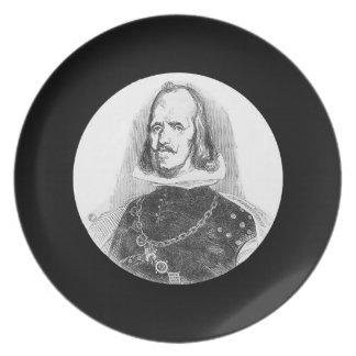 Rey de Philip de España Platos