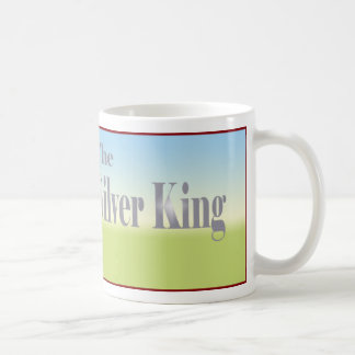 Rey de plata Tractor Tazas De Café