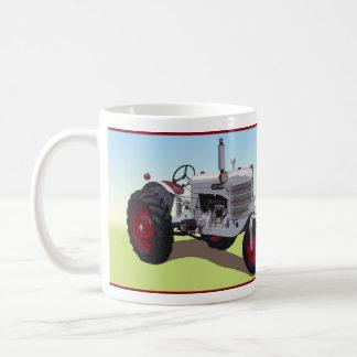 Rey de plata Tractor Taza Clásica