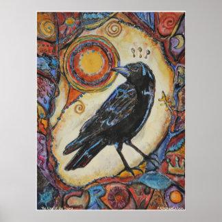 Rey de PMACarlson del poster de los cuervos