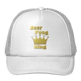 Rey de Pong de la cerveza Gorro