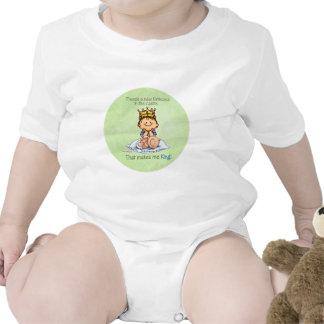 Rey de princesa - hermano mayor futuro camisetas