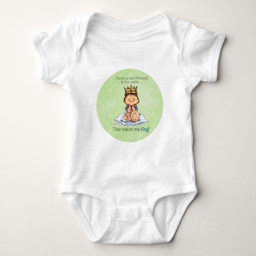 Rey de princesa - hermano mayor futuro tee shirts