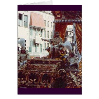 Rey de Rex del carnaval 1983 Felicitacion