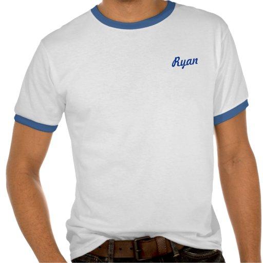 Rey de Ryan de la parrilla Camisetas