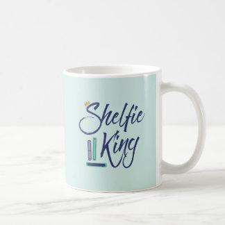 Rey de Shelfie del Booklover Taza De Café