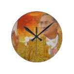 Rey de Tailandia Relojes De Pared