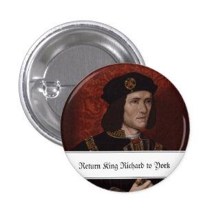 Rey de vuelta Richard III a York Pins