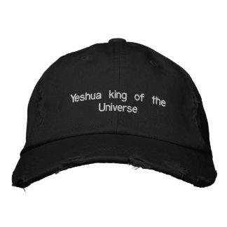 Rey de Yeshua del universo Gorros Bordados