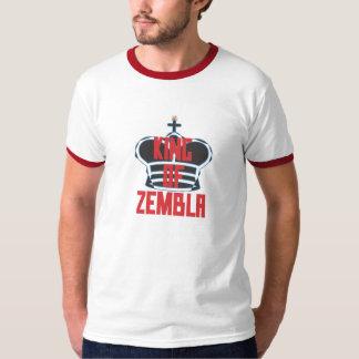 Rey de Zembla (negro rojo) Poleras