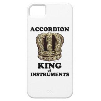 Rey del acordeón de instrumentos funda para iPhone 5 barely there