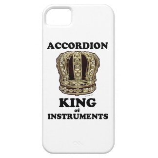 Rey del acordeón de instrumentos funda para iPhone SE/5/5s