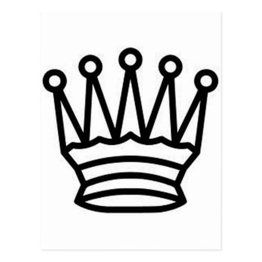 Rey del ajedrez postal