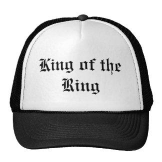 Rey del anillo gorros bordados