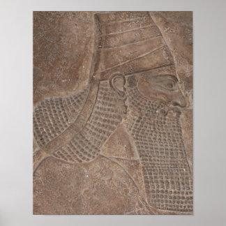 Rey del Assyria Posters