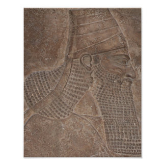 Rey del Assyria Póster