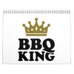 Rey del Bbq Calendario