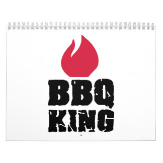 Rey del Bbq Calendarios De Pared