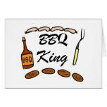 Rey del Bbq Felicitación