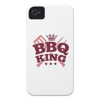 REY DEL BBQ Case-Mate iPhone 4 PROTECTORES