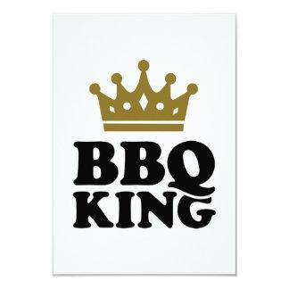 """Rey del Bbq Invitación 3.5"""" X 5"""""""