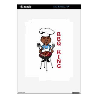 Rey del Bbq iPad 2 Calcomanías