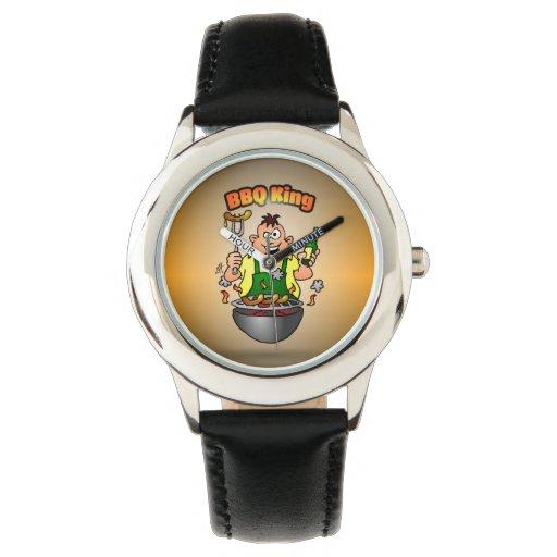 Rey del Bbq Relojes De Pulsera